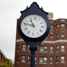 Foggy Bottom campus clock